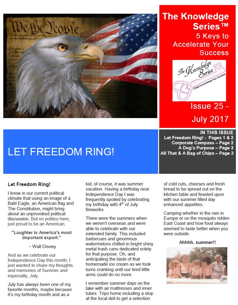 TKS July 2017 Newsletter